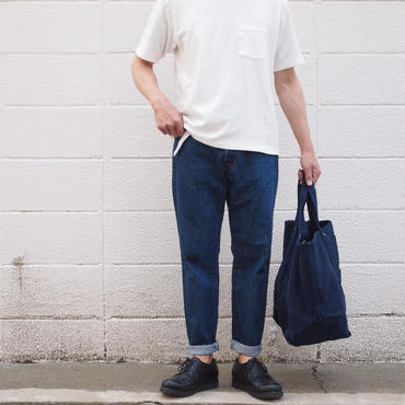 【unisex】Ordinary fits〈オーディナリーフィッツ〉 NEW ROOL UP 5P DENIM USED
