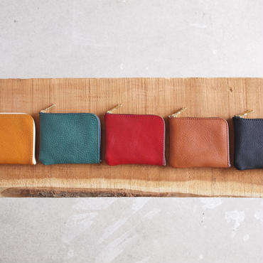 Dono 〈ドーノ〉  MINI WALLET YELLOW/TURQUOISE/RED/BROWN/BLACK