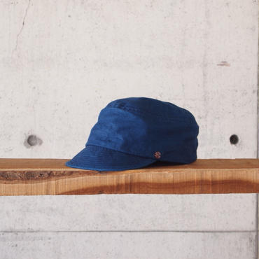 morno〈モーノ〉 LINEN WORK CAP NAVY