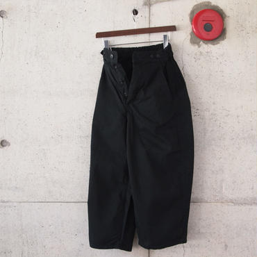 【women】Ordinary fits〈オーディナリーフィッツ〉 BALL PANTS 2 BLACK