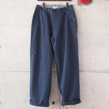 【unisex】Ordinary fits〈オーディナリーフィッツ〉 TUBE TROUSER  HICKORY/INDIGO