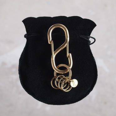 Esperanto〈エスペラント〉S/KARABINER KEY HOLDER  (EM-596K) ANTIQUE GOLD