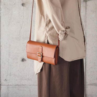 Dono〈ドーノ〉 SHOULDER WALLET BROWN