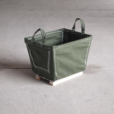 Steele Canvas Basket〈スティールキャンバス バスケット〉 SQAURE color OLIVE