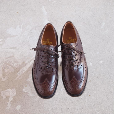 SANDERS〈サンダース〉  MILITARY GHILLIE SHOES (9734G) BURGUNDY