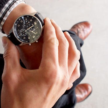 MWC〈ミリタリーウォッチカンパニー〉  LIMITED SWISS PILOTS CHRONOGRAPH (CHRLTD1-T) BLACK