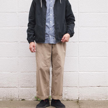 【unisex】Ordinary fits〈オーディナリーフィッツ〉 PARK CHINO PANTS BEIGE