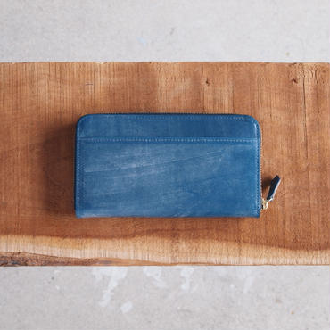 Esperanto〈エスペラント〉 BRIDLE NEW ROUND WALLET  NAVY/BLACK