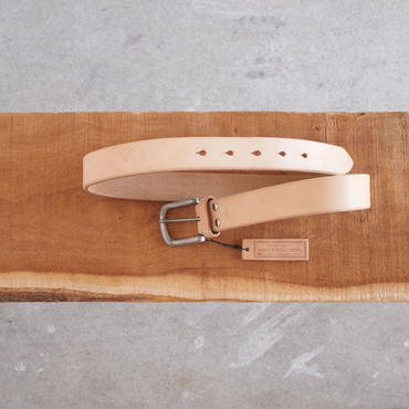 ART BROWN〈アートブラウン〉 HARNESS BELT TAN