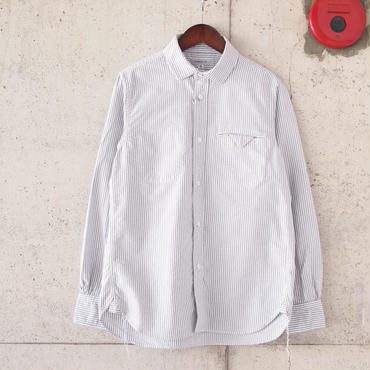 Ordinary fits〈オーディナリーフィッツ〉 INVISIBLE B/D SHIRT (OM-S001) STRIPE