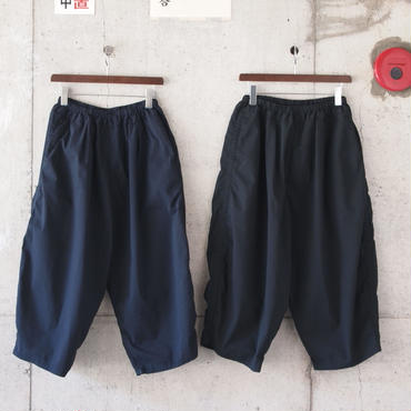 【women】Ordinary fits〈オーディナリーフィッツ〉 BALL PANTS sucker NAVY/BLACK