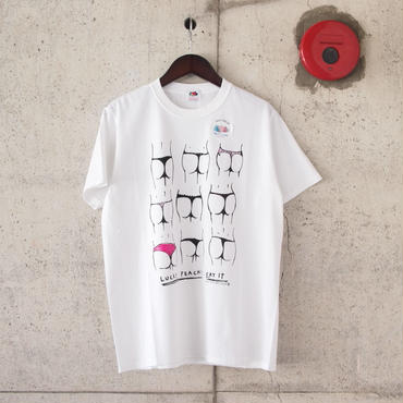 【unisex】FRUIT OF THE LOOM〈フルーツオブザルーム〉 FRUIT PARLOR ART PROJECT - 神山 隆二 WHITE