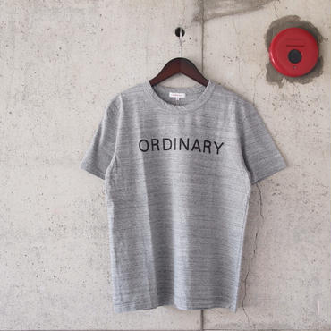 SEIRYU & Co.〈セイリューアンドコー〉 ORDINARY T-SHIRT GRAY