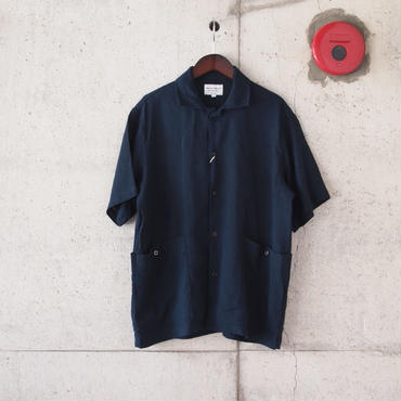 Manual Alphabet〈マニュアルアルファベット〉 COVER ALL SHIRT NAVY