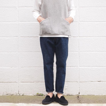 【unisex】Ordinary fits〈オーディナリーフィッツ〉 5POCKET ANKLE DENIM one wash (OM-P020OW) INDIGO