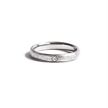 Marriage Texture Ring For Women pt950 (#7, #9)