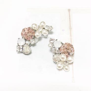 ~pearl flower~イヤリング