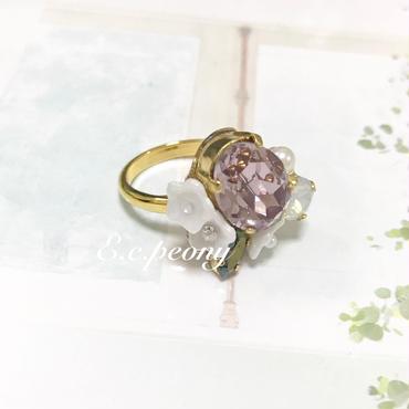 ~lilac&white  ring~
