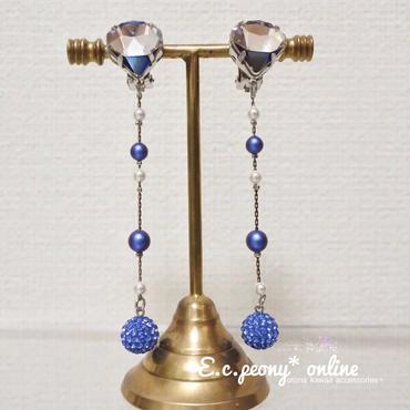 ~blue diamond~イヤリング&ピアス