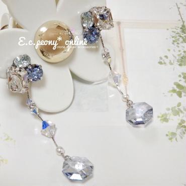 ~ice crystal~イヤリング&ピアス