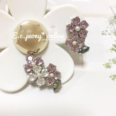 〜lavender floret 〜イヤリング