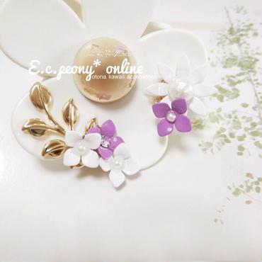 ~balloonflower&cosmos~イヤリング