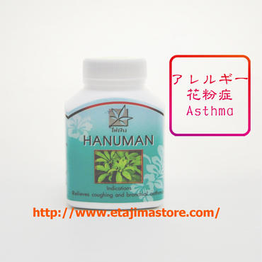 【アレルギー、花粉症、喘息気味の方】にオススのハヌマン・ハーブ (全国どこでも送料無料)