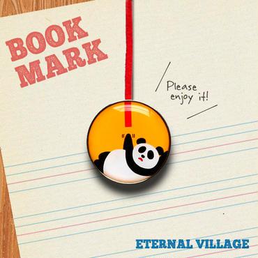 「もうちょっとパンダのクリップ型ブックマーク」no.192