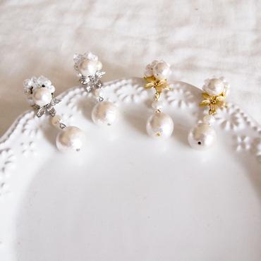 Bouquet pierce / earring