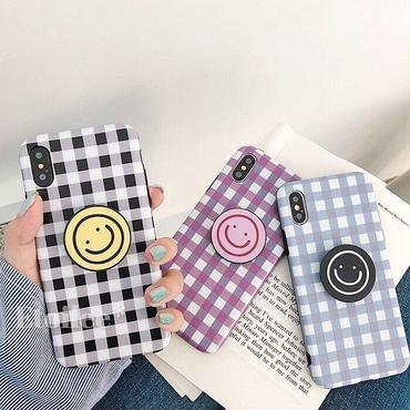 Smile check with stand iphone case