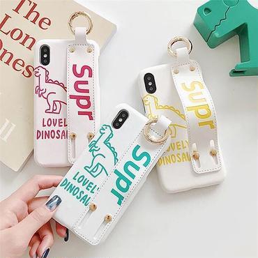 Dinosaur strap iphone case