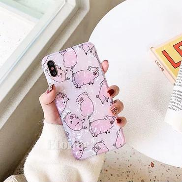 Oink shell iphone case