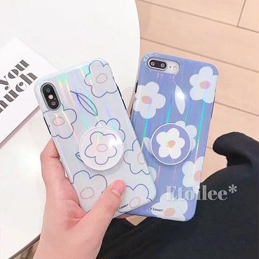 Flower with stand iphone case