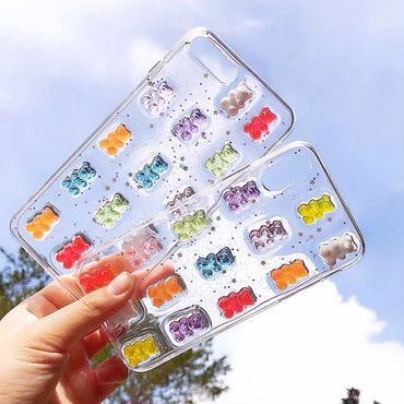 Bear gummy iphone case