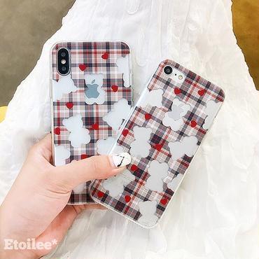 Hollow bear iphone case