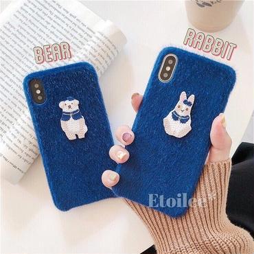 Bear rabbit iphone case