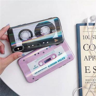 Classic tape laser  iphone case