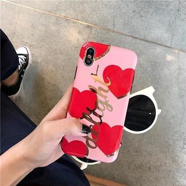 Delight heart iphone case