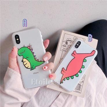 Dinosaur color iphone case