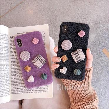 Heart button iphone case