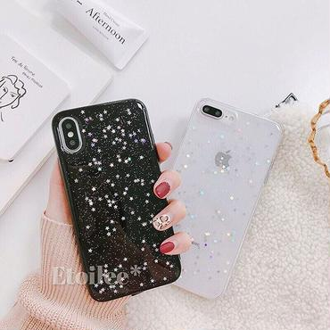 Star random glitter iphone case