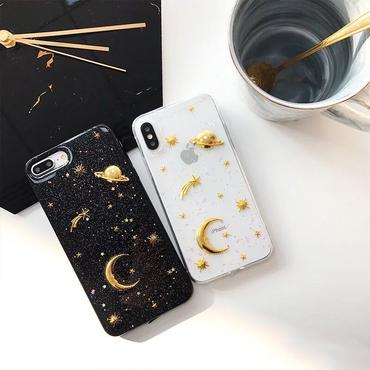 Moon star TPU iphone case
