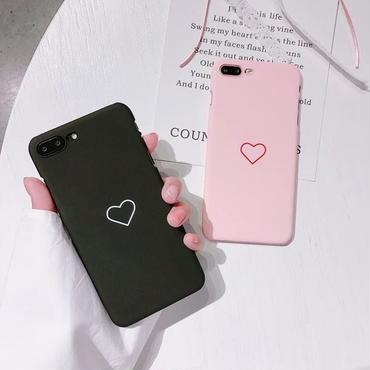 Heart line iphone case