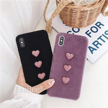 Small heart button iphone case