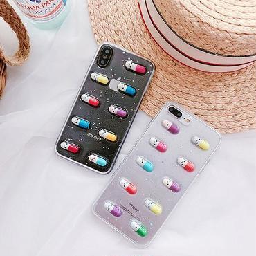 Smile capsule iphone case
