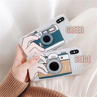 Camera clear iphone case