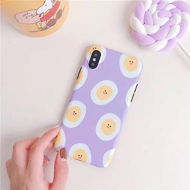 Purple egg iphone case