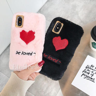 Be loved fur iphone case