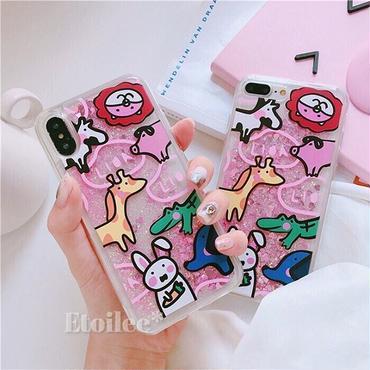 Animal quicksand iphone case