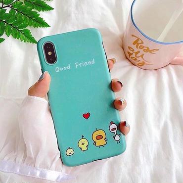 Good friend green iphone case